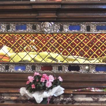 Il corpo di Santa Margherita