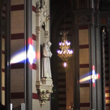 Particolare dell'interno della Chiesa